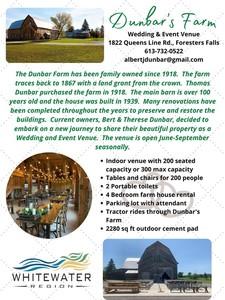 Dunbar's Farm Wedding & Event Venue