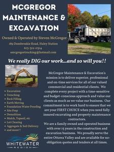 McGregor Maintenance & Excavation