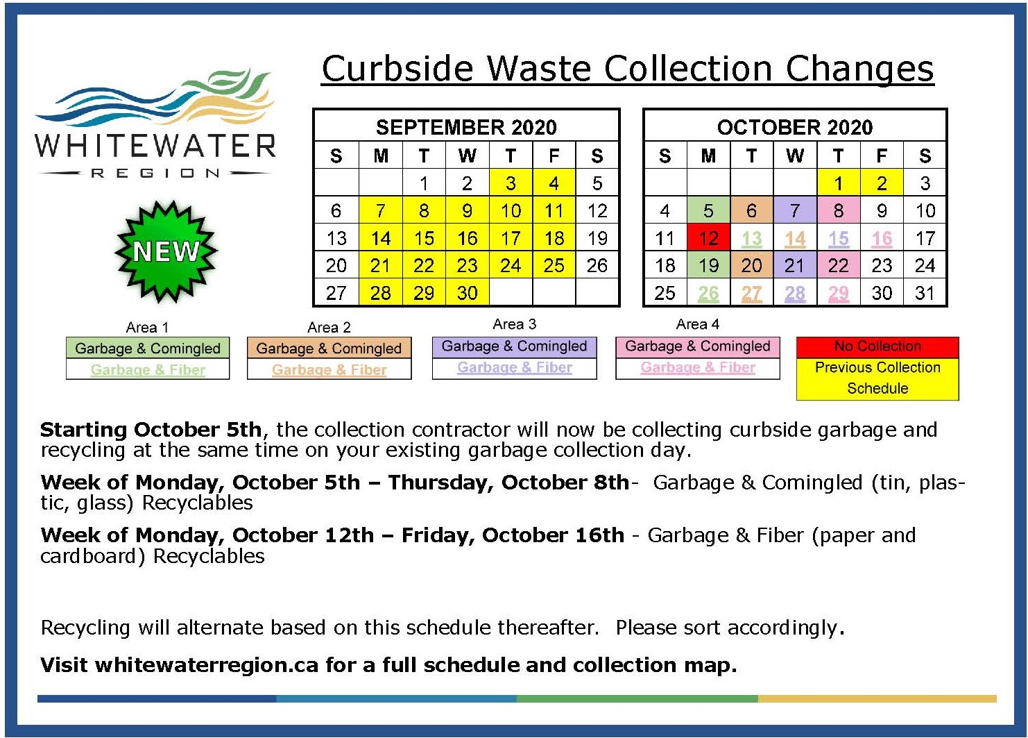 Curbside Collection Changes